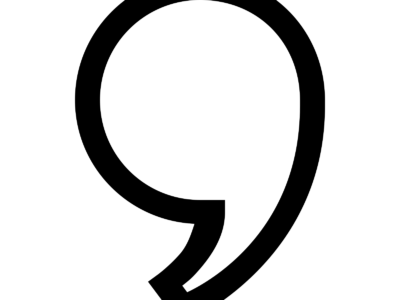 スペル『句読点4 カンマ(Comma)1』